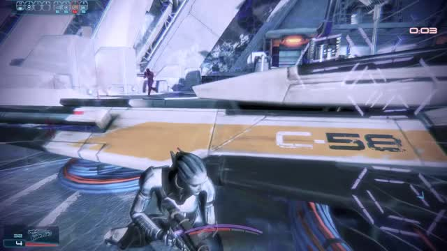 Watch ME3MP: Asari Justicar Platinum Solo GIF on Gfycat. Discover more related GIFs on Gfycat