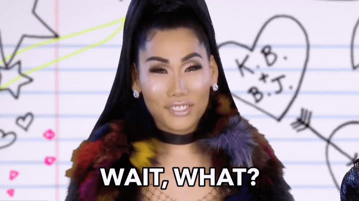 confused, drag queen, drag race, huh, rupaul, wait what, what, Wait What? GIFs