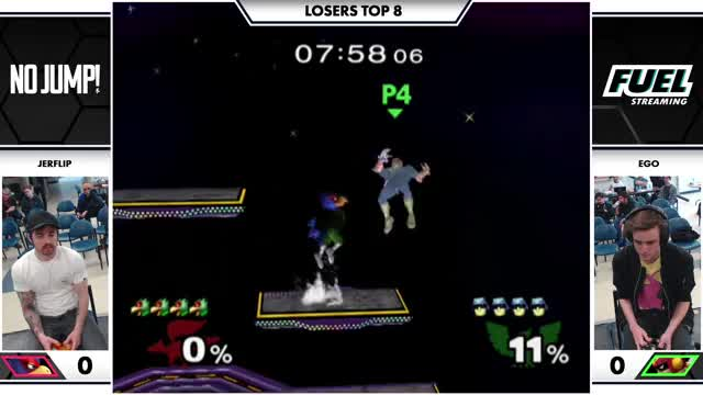 Watch [NJ!] Jerflip (Falco) vs. Ego (Captain Falcon) Melee Losers Top 8 GIF on Gfycat. Discover more Fuel Streaming, Gaming GIFs on Gfycat
