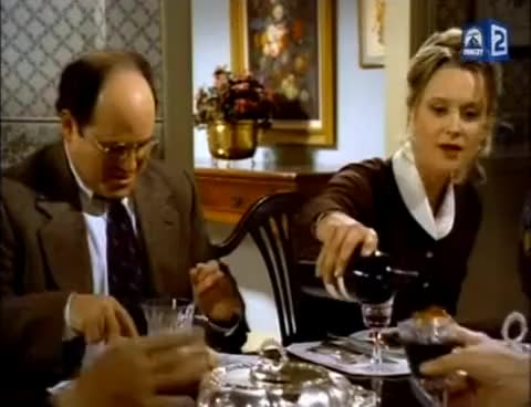 Watch and share What Is Merlot? (seinfeld Scene) GIFs on Gfycat