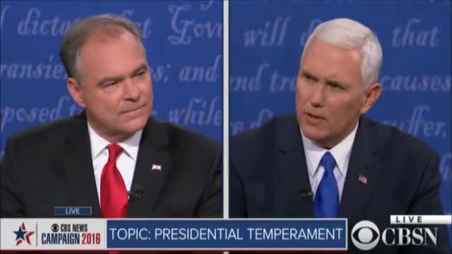 Watch and share Mike Pence GIFs and Tim Kaine GIFs by politicalnewsgifs on Gfycat
