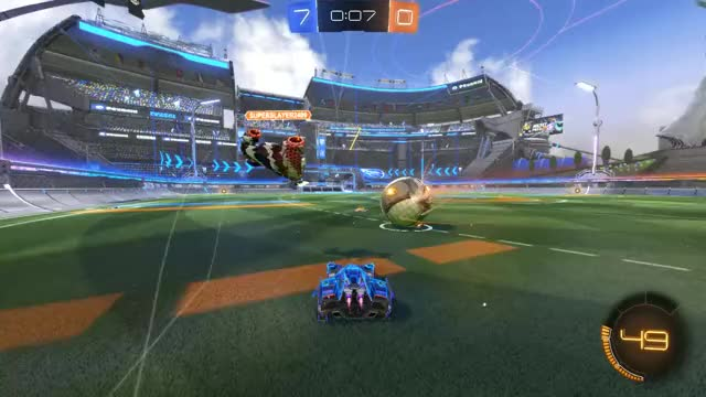 Watch and share Rocket League - Rule No.1 = Brazil GIFs by CherryDashZero on Gfycat