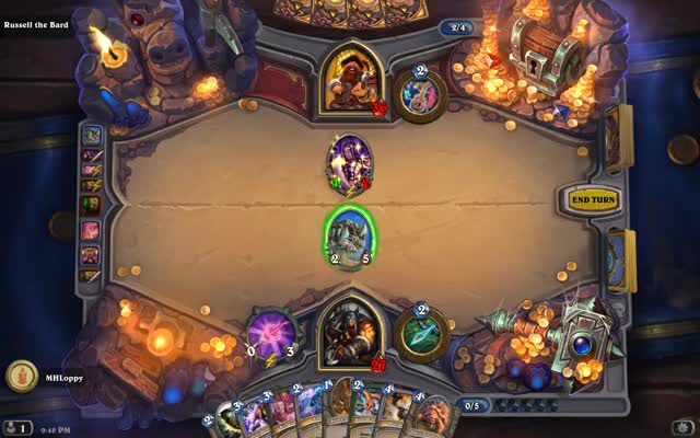 Watch Hearthstone-01 GIF by @mhloppy on Gfycat. Discover more bard, bug, hearthstone, russell, untargetable GIFs on Gfycat