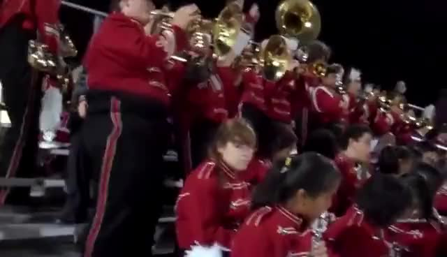 Watch and share Holy Grail By BHS Band GIFs on Gfycat
