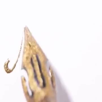 Watch ASMR - Gold Calligraphy GIF on Gfycat. Discover more GfycatDepot, PenmanshipPorn GIFs on Gfycat