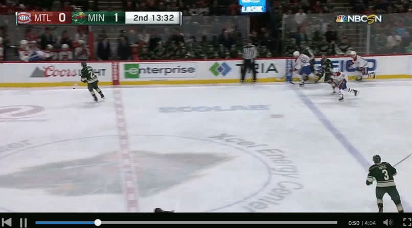 Habs-Wild :125 : E.Staal (Coyle, Dumba) GIFs