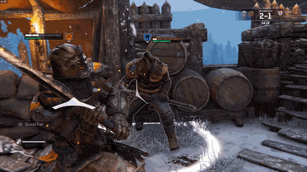 Half Sword Block for the Kill • r/forhonor GIFs