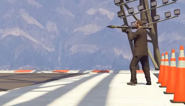 GTA 5 - Driving FASTER THAN A ROCKET? GIFs