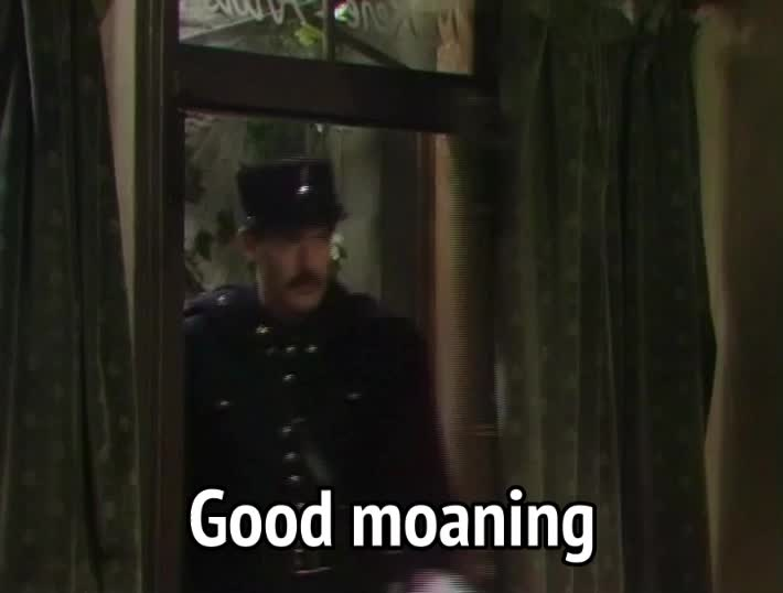 allo allo, arthur bostrom, crabtree, good morning, allo allo - good moaning GIFs