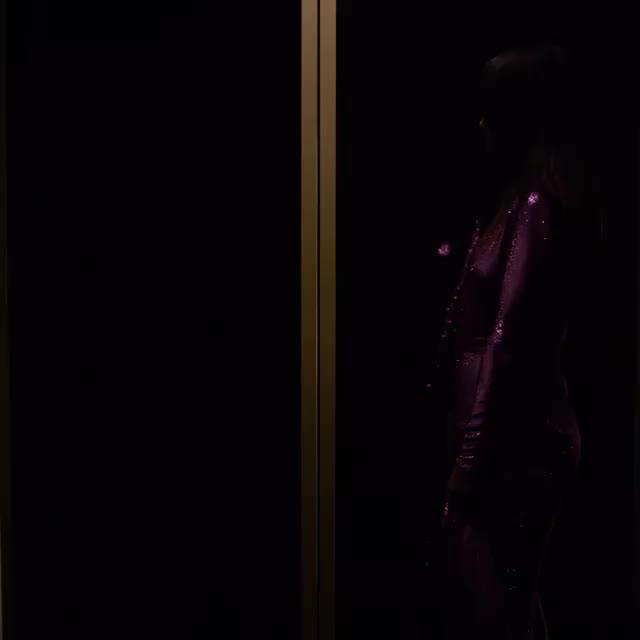 LeaMichele, leamichele, sexy, Lea Michele in elevator GIFs