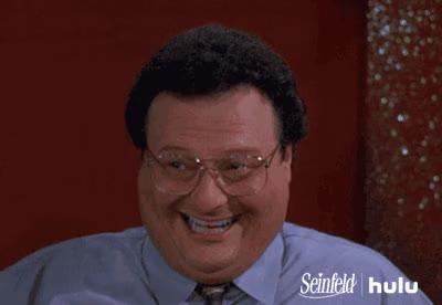 Watch and share Wayne Knight GIFs and Seinfeld GIFs on Gfycat