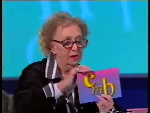 """Watch Dame Thora Hird on """"Call My Bluff"""" GIF on Gfycat. Discover more Call My Bluff (TV Program), Thora Hird (Author) GIFs on Gfycat"""