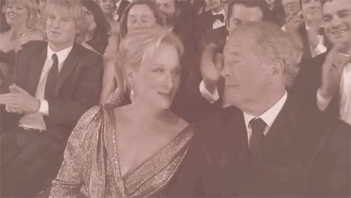 Watch this trending GIF on Gfycat. Discover more Meryl Streep, don gummer, mez, strummer GIFs on Gfycat