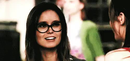 Watch and share Summer Glau GIFs and Glasses GIFs on Gfycat