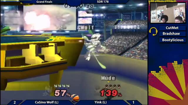 Watch SDR178 Grand Finals: Yink (Snake) vs Casino Wolf (Mewtwo) GIF on Gfycat. Discover more arizona, az, biweeklies, bros, brothers, melee, pm, project, projectm, smash GIFs on Gfycat