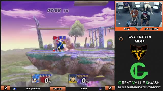 Watch JOS | Gooley (Sonic) VS Envy (Ike/Diddy) | Gauntlet V Project M | Winners Semis GIF on Gfycat. Discover more project m, ssbpm, super smash brothers GIFs on Gfycat