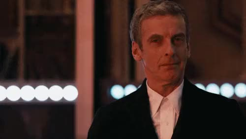 Watch and share Doctor Who Season 8 GIFs and Peter Capaldi GIFs on Gfycat
