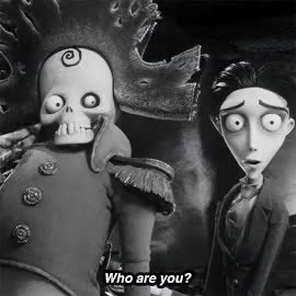 Watch and share Black And White GIFs and Corpse Bride GIFs on Gfycat