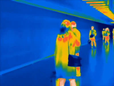 Thermal cameras are great! GIFs