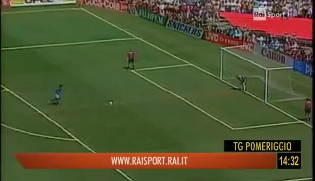 Watch and share Roberto Baggio Miss Penalty Final USA 94 GIFs on Gfycat