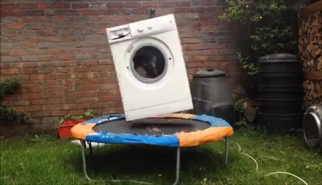 Watch washing machine destruction GIF on Gfycat. Discover more related GIFs on Gfycat