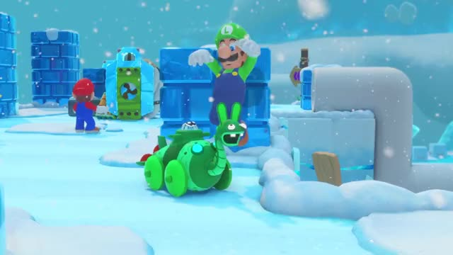 Watch and share Rabbids GIFs and Mario GIFs by xanek on Gfycat