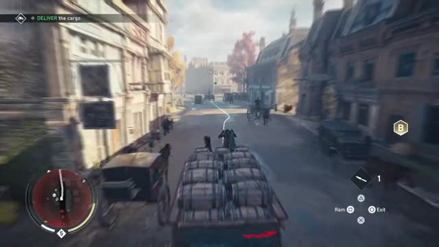 Assassin's Creed Syndicate: Horsing around