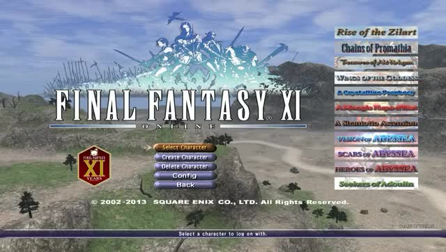 Final Fantasy XI Online - Character Creation Intro's (HD