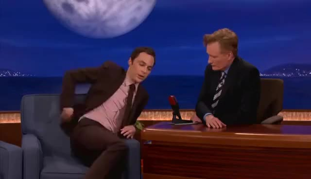 Watch and share Jim Parson GIFs and Conan GIFs on Gfycat