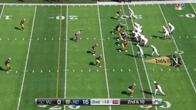 Watch and share Notre Dame Football GIFs and Brandon Wimbush GIFs by @MR_Jengler on Gfycat