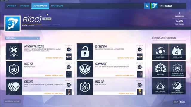 Watch overwatch achievements GIF on Gfycat. Discover more related GIFs on Gfycat