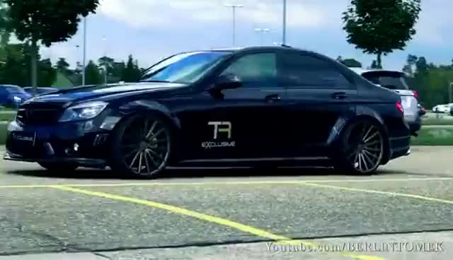 Watch and share Mercedes C63 AMG Sound V8 6.2L Acceleration 0-200 Autobahn Onboard BURNOUT GIFs on Gfycat