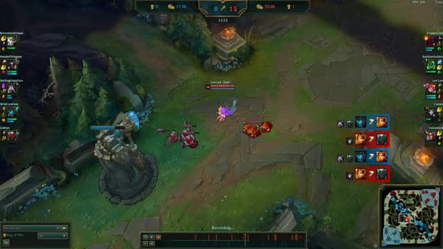 Watch Zoe Outplay GIF on Gfycat. Discover more leagueoflegends GIFs on Gfycat
