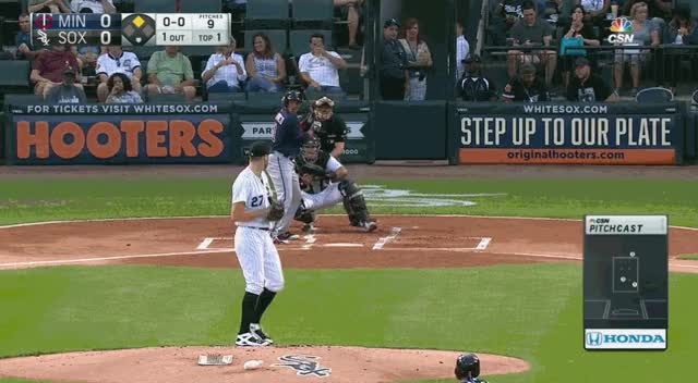 Watch and share Giolito Fastballs Polanco 1st GIFs on Gfycat