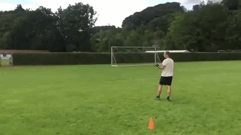 Watch and share Guy Throwing A Fast Catch Boomerang GIFs on Gfycat