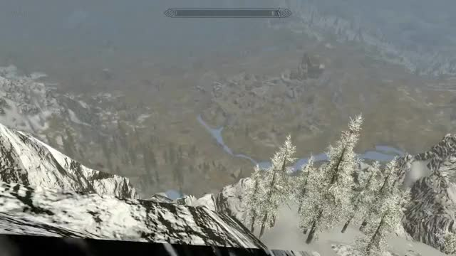 SKYRIM How to travel quickly using whirlwind sprint! GIF by