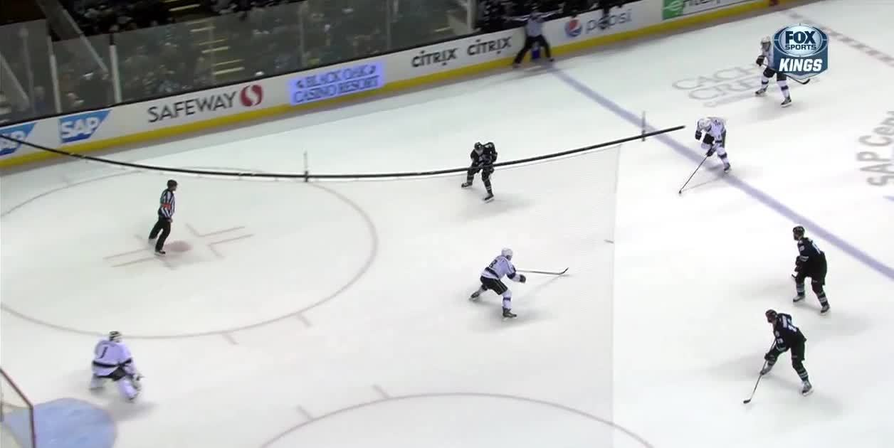 gifsfromthegame, sanjosesharks, Sharks fail to score on a OT 3 on 1 GIFs