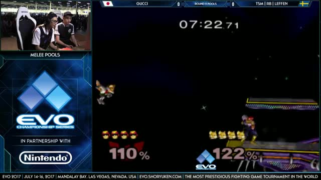 Gucci with the SPIKE on Leffen