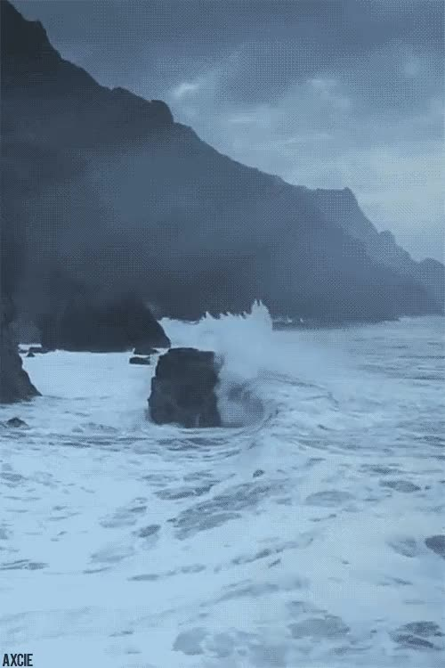 Watch and share Crashing Waves GIFs on Gfycat