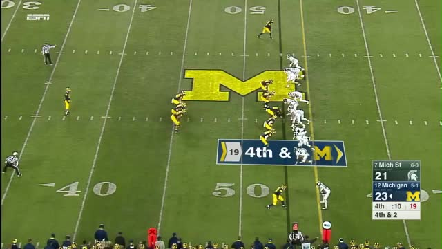 Watch and share Punt Michigan Punt GIFs on Gfycat