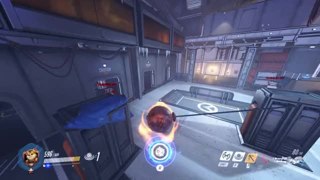 Watch and share Wrecking Ball GIFs and Overwatch GIFs by zheta on Gfycat