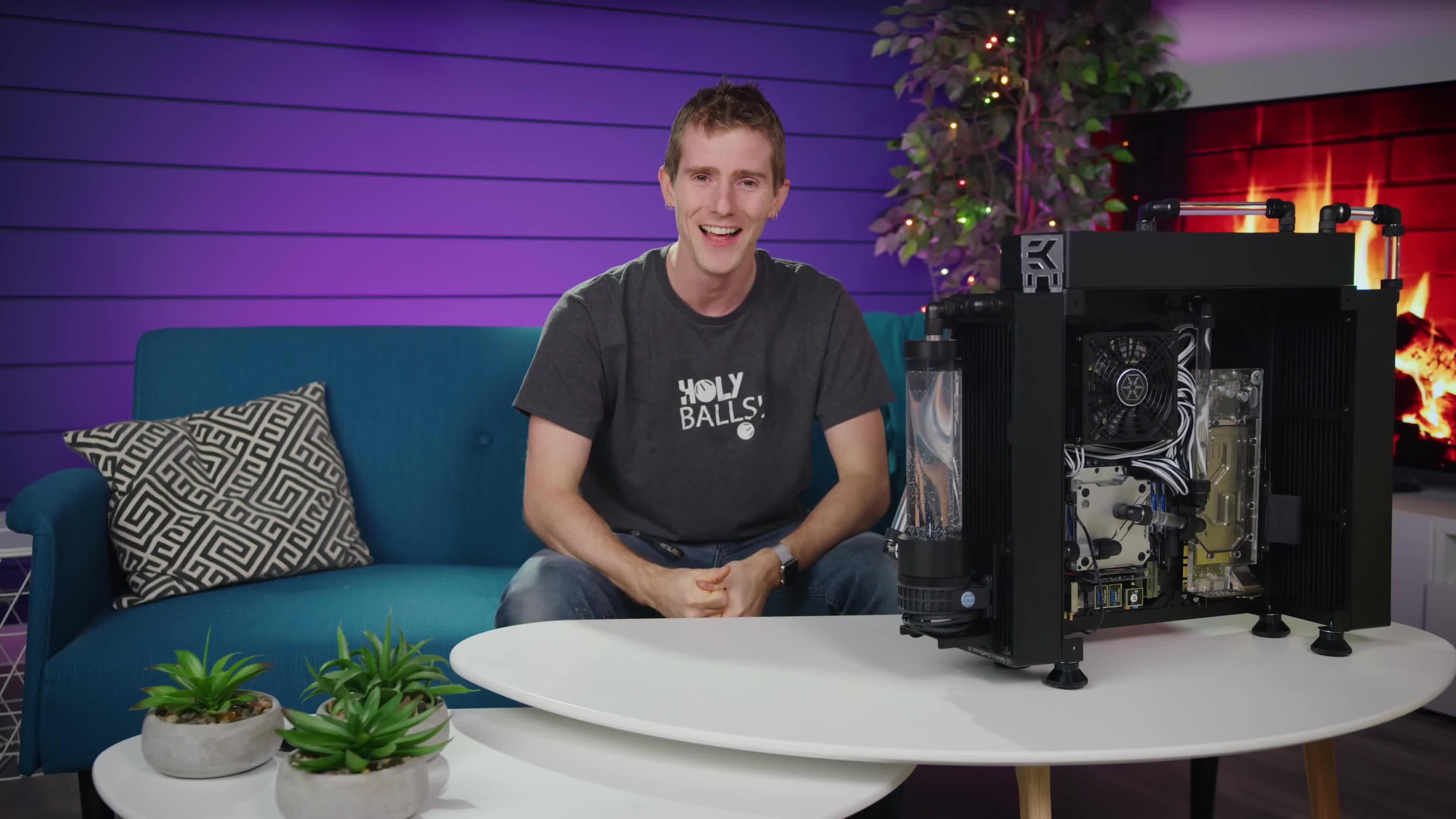linus sebastian, linus tech tips, reaction gif, Haha... oh that's awful GIFs