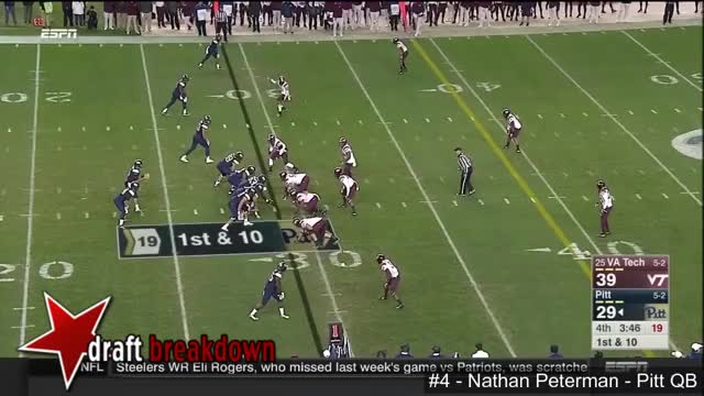 Watch and share Nathan Peterman Pitt QB Vs Virginia Tech 2016 GIFs by markbullock on Gfycat