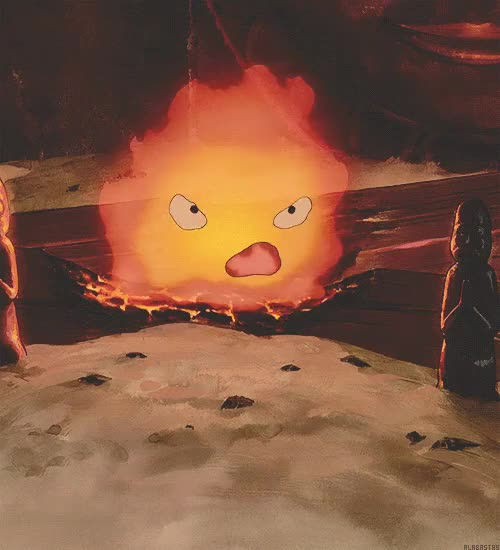Watch and share Howl No Ugoku Shiro GIFs and Studio Ghibli GIFs on Gfycat