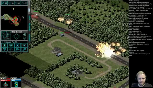 JagerXII - MechCommander | Operation 4-1 Capture Masakari/ Destroy Orbital Guns GIFs