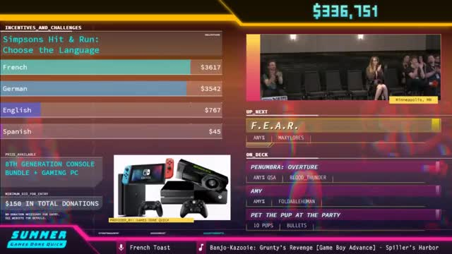 F.E.A.R. by Maxylobes in 1:03:24 - SGDQ2018