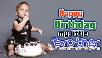 Watch and share Happy Birthday My Little Brother GIFs on Gfycat