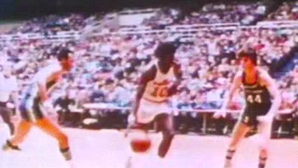 date unknown, Earl Monroe — Baltimore Bullets GIFs