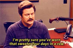 Watch Amy Poehler on embarrassment GIF on Gfycat. Discover more nick offerman GIFs on Gfycat