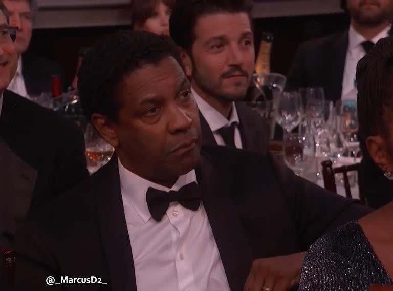 Denzel Washington reaction thumbs up finger point GIFs
